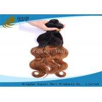 Buy cheap Beauty Skin Care Peru Hair Bundle , T1B / 27 Ombre Remy Hair Extensions from wholesalers