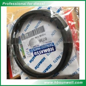 Cheap Original/Aftermarket  High quality  Komatsu  S6D102 diesel engine parts Piston Ring  6738-31-2031 wholesale