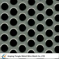 Cheap Perforated Mesh Sheet Round Hole Shape  0.5-5mm Thickness Customized Size wholesale
