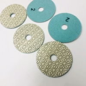 Cheap 100mm 3 Step Diamond Polishing Pads For Granite wholesale