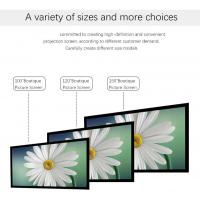Buy cheap Projection 3D Fixed Frame Screen Aluminum Material Coated Easy Cleaning from wholesalers