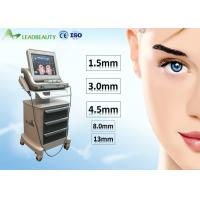 Cheap 1.5mm/3mm/4.5mm HIFU face lifting for face lifting/wrinkle removal/body slimming for salon, clinic and home use wholesale