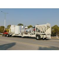 China New Designed One Trailer Mounted 20T/H Continuous Asphalt Mixing Plant on sale