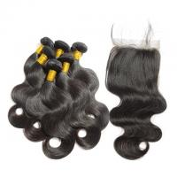Cheap Non Processed Virgin Human Hair Bundles Brazilian Body Wave No Synthetic wholesale