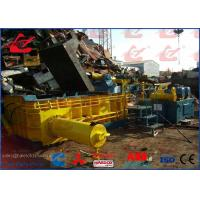 HMS Heavy Metal Scrap Metal Baler Recycling Machine 5 Tons Per Hour