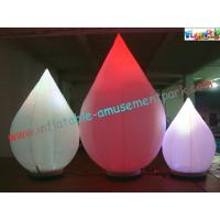 Cheap Multicolor Club Inflatable Lighting Decoration Balloon , LED RGB Light Balloon  wholesale
