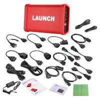 LAUNCH X431 Scanner HD Module Heavy Duty Adapter Box Truck Diagnostic Adapter Connect by Bluetooth