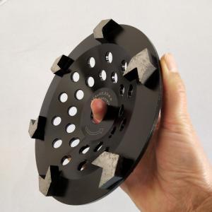 Cheap 180mm 7 Inch Diamond Cup Concrete Grinding Wheel  V Shape Teeth wholesale