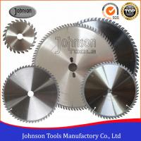 Cheap High Precision TCT Circular Saw Blades For Plastic / Plywood / Aluminum wholesale