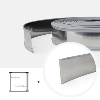 Cheap ASTM Easy Bending Stainless Steel Core 65mm Trim Cap Strip wholesale