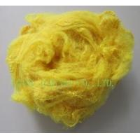 polyester staple fiber yellow