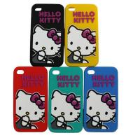 Cheap Hello Ketty Pattern Apple iPhone / Cell Phone Silicone Cases For Girls wholesale