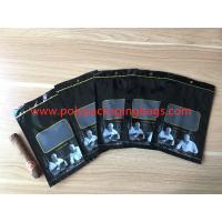 Cheap Custom Loge Cigar Moisturizing Zipper Plastic Bag Size W135 x L255mm wholesale
