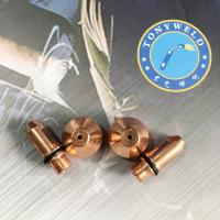 China Air Plasma Cutting Machine Plasma Cutter Spare Parts Yueyang160 Nozzle And Electrode on sale