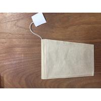 Buy cheap 100pcs unbleached keystone tea bag with string and tag from wholesalers