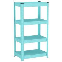 Cheap Blue / Pink Steel Shelving Racks 3 - 5 Layers For Flower Easy Installation wholesale