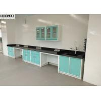 Hospital Chemical Steel Lab Furniture Acid Alkali Resistant Benchtops