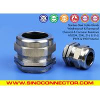 Weatherproof & Waterproof IP68 Stainless Steel Straight Cable Glands (Stainless Steel Cord Grips / Cable Grips)