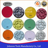 Cheap 100mm Diamond Polishing Pads for Concrete , Polishing the Concrete Countertop and Floor wholesale