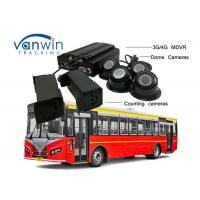 Cheap 3G / 4G Real-Time Monitoring Camera recorder with Bus People Counter GPS Tracking OSD wholesale