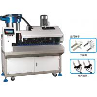 Cheap Update European Plug Inserts Terminal Crimping Machine For 2 Core Round Cable wholesale