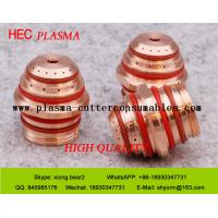 Buy cheap Hypertherm Plasma Cutting Machine Parts Plasma Accessories , Plasma Nozzle 120795 CCW from wholesalers