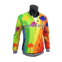 Cheap Stylish Sublimation Casual Polyester Sports Jacket With Pockets Comfortable wholesale