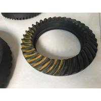 Cheap NISSAN Spiral Bevel Gear Crown Wheel Pinion Big Diameter 20CrMnTiH Material wholesale