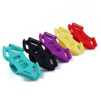 Buy cheap Flexible Silicone Bike Handlebar Cellphone Mount Rubber Strap Holder for 4.5-6.0 Inch Phone in Five Bright Color from wholesalers