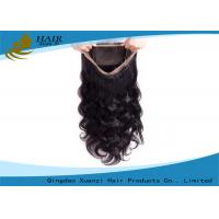 Buy cheap Factory Wholesale Price 100% Virgin Brazilian Hair 360 Lace Frontal from wholesalers