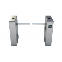 Cheap 1.2mm Thickness SS304 RFID Reader Drop Arm Turnstile wholesale