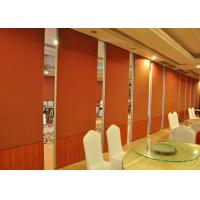 Cheap Acoustic Movable Hanging Retractable Partition Walls For Restaurant wholesale
