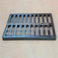 """Cheap Class E600 duracoated extra heavy-duty 12"""" x 24"""" [305mm x 610mm] cast iron grate in frame from china wholesale"""