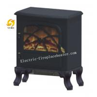 Cheap Free Standing European Style Fireplace Heater With Two Heating Power 1500W wholesale