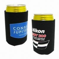 Cheap Collapsible Koozies, Made of Neoprene wholesale