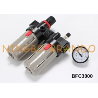 China 3/8'' NPT BFC3000 Airtac Type FRL Air Filter Regulator And Lubricator on sale