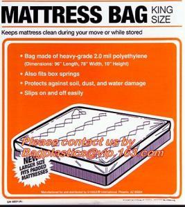 Cheap Mattress Bags Chair Sofa Cover Dust Cover Sheet , Mattress Storage Disposable Bags wholesale