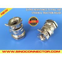 Cheap Nickel-plated Brass Cable Gland with Strain Relief Clamp & Traction Relief Clamp wholesale