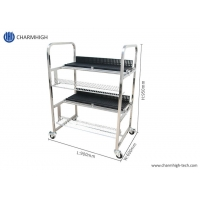 Cheap Storage Feeder Cart for FUJI NXT Electric SMT Feeder Trolley Aluminum Alloy SS wholesale