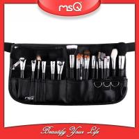 2017 Fashion MSQ Professional High quality 25pcs makeup tool brush set with belt cases