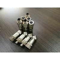 Buy cheap Field Wireable Assembly M12 8 Pin Female Connector from wholesalers
