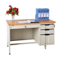 Buy cheap H780 Office Metal Reading Table With Drawer Teacher Steel Computer Table from wholesalers