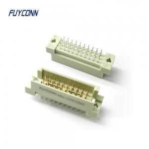 Cheap DIN41612 Vertical PCB 5 10 15 20 30 Pin Euro Male Plug Connector wholesale
