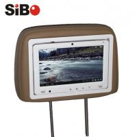 Cheap 9 inch Taxi Rear Seat Pillow Android Touchscreen Monitor with Advertising Management System wholesale
