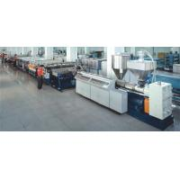 Buy cheap High speed PE/PP/PC hollow profile sheet extrusion line from wholesalers