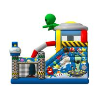 Quality Out Space Inflatable Bouncy Castle Slide Combo Jumper 1 Year Warranty for sale