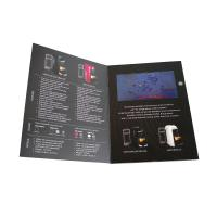 Cheap Matte Lamination LCD Video Brochure VS Printed Book Makes Your Business More Easy wholesale