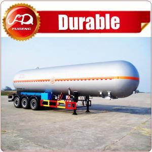 Cheap Shandong Fudeng 52000 liters 3 axles lpg tank trailer price/ lpg gas tanker semi trailer for sale wholesale