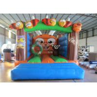Cheap Outdoor Games Custom Made Inflatables Safe Waterproof Enviroment - Friendly inflatable bounce house wholesale