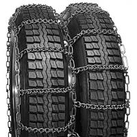 Cheap V Bar Dual Rubber Tire Chains , Tire Cable Chains For Truck Tires wholesale